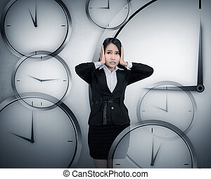 Business Overtime Conceptual