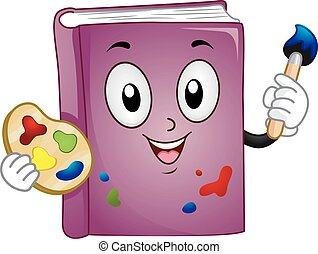 Mascot Book Art Paint