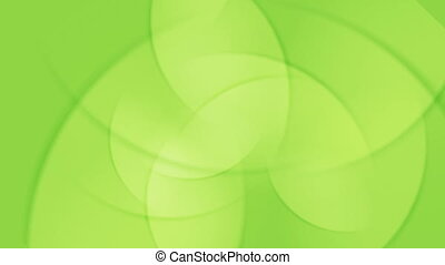 Abstract bright green shiny animated background