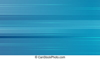Abstract blue horizontal lines animated background. Motion...