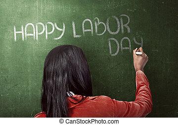 Happy Labor Day Concept
