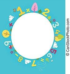 Nature Math Circular Board