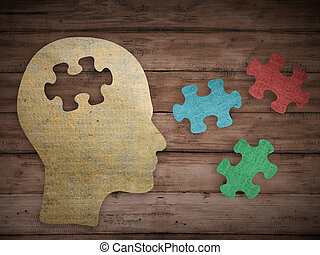 Choose your personality that matching you - Puzzle head...
