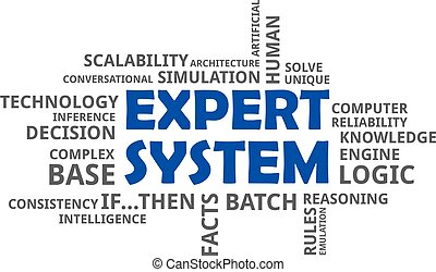 word cloud - expert system - A word cloud of expert system...