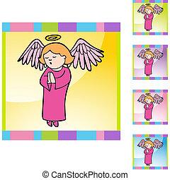 Praying Girl Angel