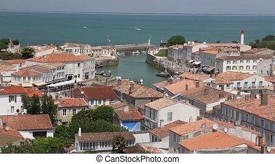 Il de Re harbor France Atlantic coast