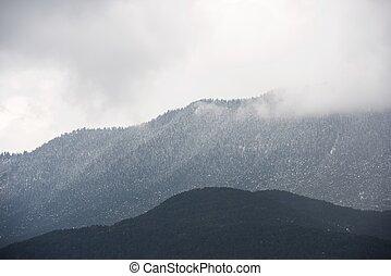 Pyrenees - Oroel Mountain in Pyrenees, Jaca, Aragon, Huesca,...
