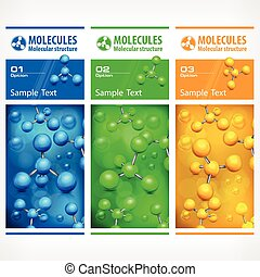 Color medical science poster