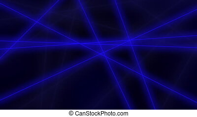 Hi-tech motion background. Abstract blue lines crossings. 4K...