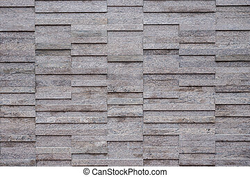 Pattern of black slate wall texture and background - Pattern...