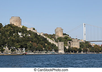 Rumelian Castle in Istanbul City - Rumelian Castle in...