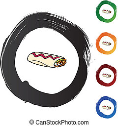 Burrito Illustrations and Clip Art. 1,130 Burrito royalty free ...