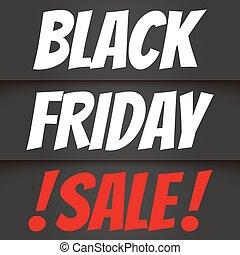 Black friday sale - Banner for sale. Black friday sale