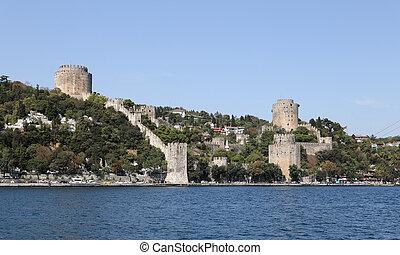 Rumelian Castle in Istanbul City - Rumelian Castle in...
