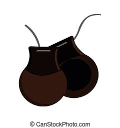 castanets vector clip art eps images 138 castanets