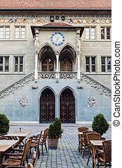 Rathaus in Bern. Bern, Bern-Mittelland, Switzerland.