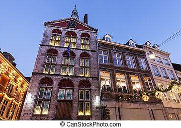 Dinghuis - Old courthouse in Maastricht. Maastricht,...