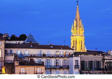 St. Anne Church in Montpellier. Montpellier, Occitanie,...
