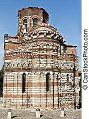 Old town of Nessebar, Bulgaria - The Church of Christ...