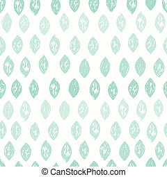 Cute blue monochrome seamless pattern.