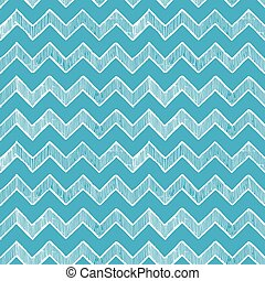 zigzag parallel lines - blue seamless pattern of zigzag...