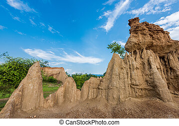 "The pillar of the soil is called ""Sao Din Na Noi"". Located..."
