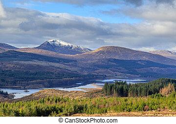 Isle of Skye - A scenic view of the Isle of Skye, Scotland,...