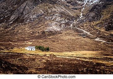 white cottage - White cottage in the scottish islands...