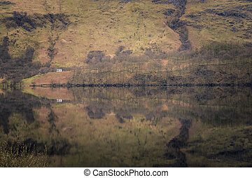 Reflection - Beautiful landscape Reflection in the scottish...