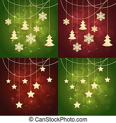christmas greeting cards - Merry Christmas or new year cards...