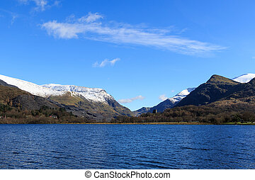 Snowdonia national park, - The beautiful landscape of Wales.