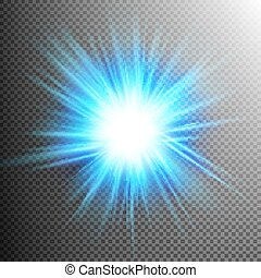 Light Effect Transparent Flare Lights. EPS 10 vector file...