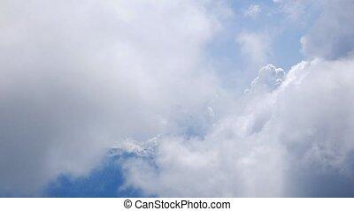 Clouds. Sochi, Russia. Time Lapse. UltraHD (4K)