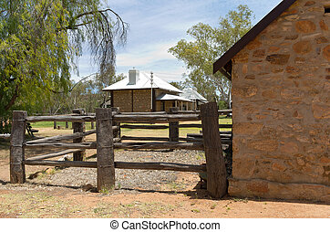 Shoeing Yard and Telegraph Station - shoeing yard and...