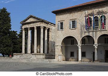 Temple of Augustus - Pula - Croatia - The Temple of Augustus...