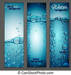 Water Wave Banners