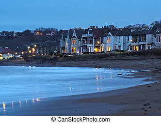 North Berwick - UK, Scotland, East Lothian, North Berwick,...