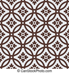 Retro seamless pattern - Vector illustration, seamless...