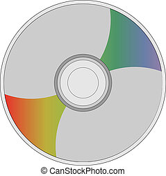 CD - This is an illustration of a CD.