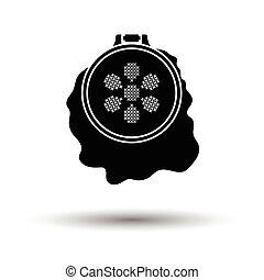 Sewing hoop icon