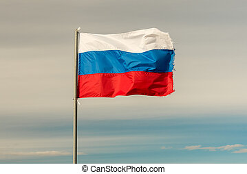 Flag of Russian Federation - The flag of the Russian...