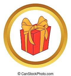 doosje, Vakantie, cadeau,  Vector, pictogram