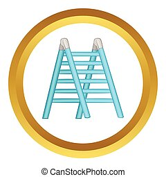 Ladder vector icon