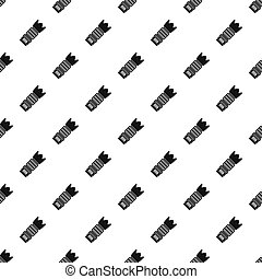 Professional zoom lens pattern, simple style - Professional...