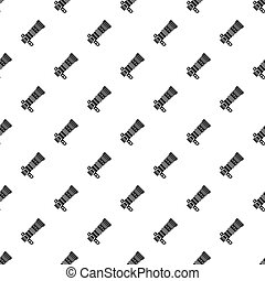Dslr camera with zoom lens pattern, simple style - Dslr...