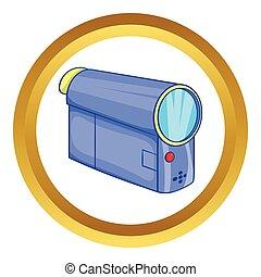Camcorder vector icon