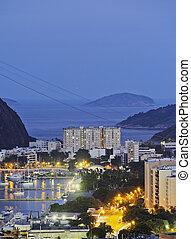 Botafogo Neighbourhood in Rio de Janeiro - Brazil, City of...