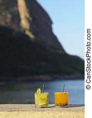 Caipirinha - Brazil, City of Rio de Janeiro, Urca,...