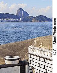 Fort Copacabana in Rio - Brazil, City of Rio de Janeiro,...