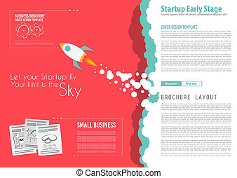 Startup Landing Webpage or Corporate Design Covers to use...